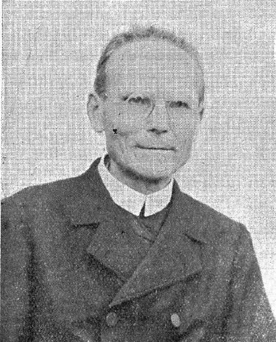 Il redentorista P. Joseph Pernet 1868-1946  Francia, della Provincia di Lione. Educatore dei giovani per 21 anni a Uvrier, Svizzera, nel grande giovenato.