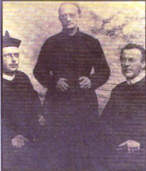 Nessuna immagine del redentorista P. Geraldo Braam C.Ss.R. 1888-1948  Paesi Bassi della Provincia di Amsterdam, poi in Brasile. Morì 60 anni in Curvelo. (foto: i primi redentorista giunti a Curvelo)