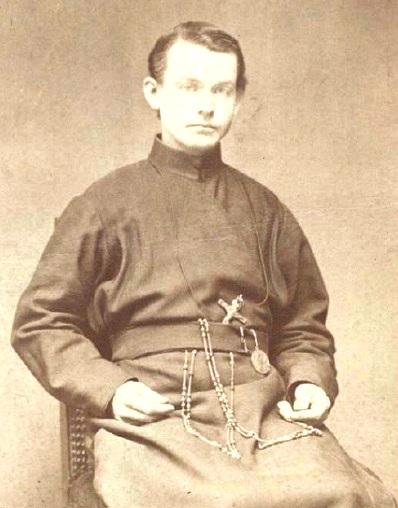 Il redentorista Fratello Jeremiah Keefe 1852-1889 – Irlanda/USA, Provincia di Baltimora. 37 anni