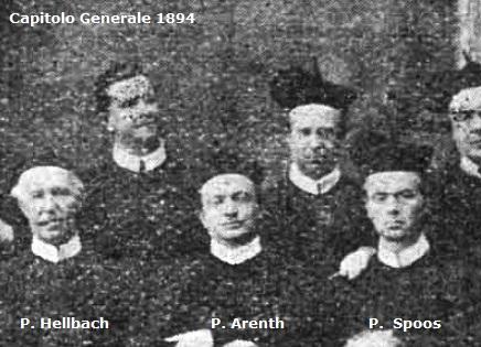 Il redentorista P. Matthias Arenth C.Ss.R. 1846-1895  Borussia della Provincia di Colonia. al Capitolo Generale del 1894 da cui è estratto il particolare fotografico.