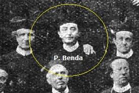 Il redentorista P. Augustin Benda C.Ss.R. 1869-1946  Boemia, della Provincia di Vienna. Fu il secondo Povinciale della Provincia di Praga.