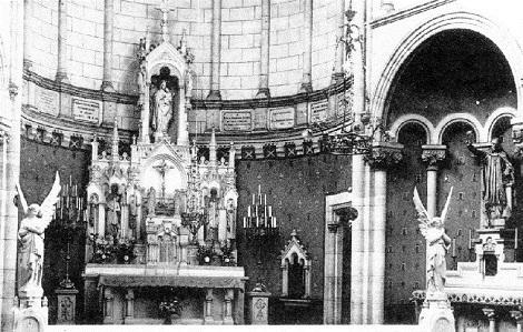 Nessuna immagine del redentorista P. Léon Dürre, 1882-1953, Francia, della Provincia di Parigi. Morì a 71 anni. (nella foto: la chiesa di Argentan, dome P. Dürre trascorse gli ultimi anni).