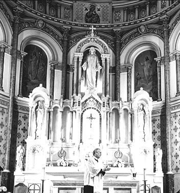 Nessuna immagine del redentorista P. Joseph Daley, 1893-1954, USA, della Provincia di Baltimora. (nella foto: la chiesa del Sacro Cuore a Baltimora, dove P. Daley servì negli ultimi tempi)