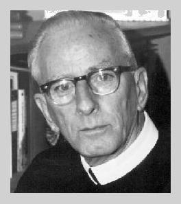 Il redentorista P. John Alphonsus Duffy, 1914-1993, USA, Provincia di Baltimora. Nato a Boston da genitori immigrati irlandesi.La maggiorattività di padre Duffy è stata l'insegnamento nei seminari redentoristi. E' morto il 24 dicembre 1993.