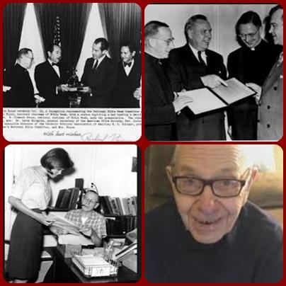 Il redentorista P. Louis Hartman, 1901-1970 – USA, Provincia di Baltimora. Ha insegnato nello studentato di Esopus e dal 1950 presso l'Università Cattolica. È morto a Washington il 22 Agosto 1970.