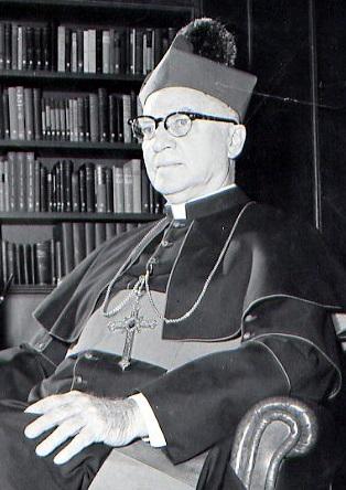 Il redentorista Mons. Louis Joseph Willinger, C.Ss.R. 1886-1973 – USA, Provincia di Baltimora. Il Vescovo Willinger ha partecipato alle sessioni del Concilio Vaticano II. è morto a Fresno il 25 luglio 1973.