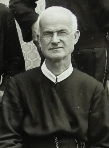 Il redentorista P. Giuseppe Cesaretti, 1877-1954, Italia, della Provincia di Roma. morì a 77 anni.