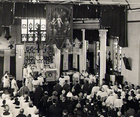 Maitland, South New Wales, Australia 15 settembre 1929. Cerimonia della Consacrazione Episcopale di Mons.Edmundo Gleeson, Vescovo titolare di Vatarba.