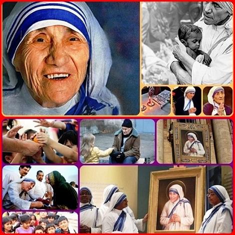 Madre Teresa di Calcutta ha amato Cristo più di tutti i suoi affetti terreni, accogliendolo nei più poveri ed abbandonati della società. Ha portata la sua croce con gioia e misericordia: è stata una vera discepola di Cristo; oggi è la SANTA in cui il mondo può vedere realizzata in pieno l'accoglienza e la Misericordia di Dio