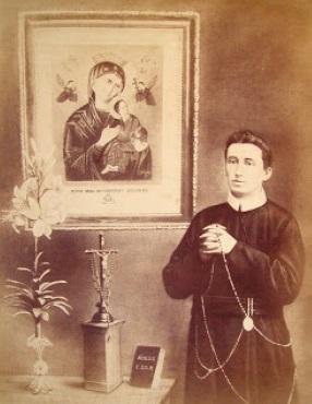 Il redentorista P. Alfred Pampalon, 1867-1896, Canada, della Provincia Flandrica.