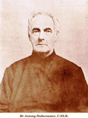 Il redentorista Fratello James Anthony Habermaier, 1819-1895, – Baviera, Provincia di Baltimora. Era stato sposato e un convinto cattolico, un membro di spicco della parrocchia di San Giuseppe di Rochester, USA. Morì nel 1895 a 76 anni.