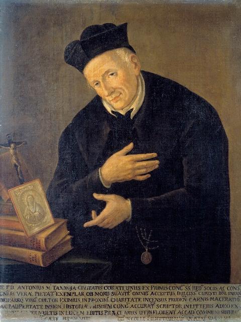 Il redentorista P. Antonio Tannoia, 1727-1808, della Congregazione primitiva, poi Provincia di Napoli.