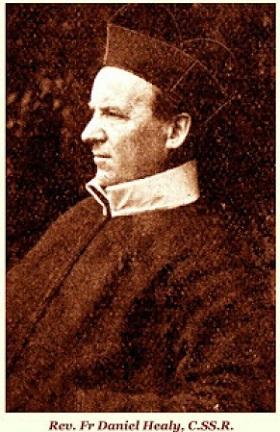 Il redentorista P. Daniel Healy, 1848-1898, Provincia di Dublino. Quando entrò tra i redentorista era già sacerdote da dieci anni. Morì a 50 anni.