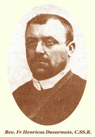 Il redentorista P. Henri Ducarmois, C.Ss.R. 1875-1905 – Belgio, Provincia Flandrica. Nato in Belgio, dopo ordinato sacerdote partì per il Congo nel 1905.Morì improvvisamente a 30 anni.