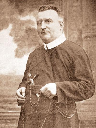Il redentorista P. Emiel Van der Straeten, 1862-1924, Belgio, Provincia Flandrica. Nacque nel 1862 a Biest (Belgio). Fu cappellano militare per i profughi belgi in Francia durante la Grande Guerra; poi riprese il servizio missionario. Morì nel 1924 a 62 anni.