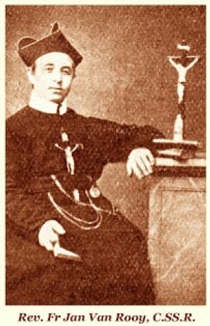 Il redentorista P. Jan Van de Aa, C.Ss.R. 1822-1872 – Paesi Bassi, Provincia Flandrica. Nacque in Olanda e fu ordinato sacerdote dopo il percorso degli studi. Fu inviato in Inghilterra, a Clapam, e poi in Irlanda nella nuova Comunità di Limerick. Fu quindi Consultore del Vice-Provinciale con residenza a Clapham. Più tardi fu inviato alle difficili Missioni nella Guiana olandese, Sud America, dove morì dopo una vita di lavoro e sacrifici, a Paramaribo nel 1872, a 49 anni.