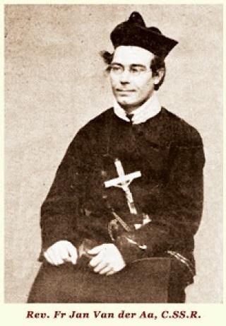 Il redentorista P. Jan Van de Aa, C.Ss.R. 1822-1872 – Paesi Bassi, Provincia Flandrica. Nacque in Olanda e fu ordinato sacerdote dopo il percorso degli studi. Fu inviato in Inghilterra, a Clapam, e poi in Irlanda. Più tardi fu inviato alle difficili Missioni nella Guiana olandese, Sud America, dove morì dopo una vita di lavoro e sacrifici, a Paramaribo nel 1872, a 49 anni.