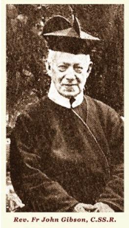 Il redentorista P. John Gibson, 1822-1902, Regno Unito, Provincia Flandrica. Entrò tra i Redentoristi già sacerdote. Morì a Clapham, Londra, nel 1902 a 79 anni: un modello di regolare osservanza e di obbedienza.