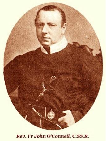 Il redentorista P. Joannes O'Connell, 1841-1889, Irlanda, Provincia di Londra. La sua vita e la sua improvvisa morte, avvenuta  48 anni, lasciarono una profonda impressione sul popolo di Limerick, Irlanda. Era un grande confessore nel nel confessionale lsi manifestò la malattia al cuore, di cui morì la mattina de 22 gennaio 1889.