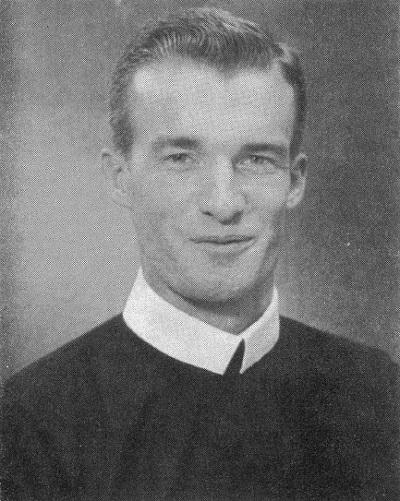 Il redentorista P. John Peter Fogarty, 1931-1964, USA, della Provincia di Baltimora. Superiori lo mandarono a Roma a specializzarsi in psicologia; ed egli si laureò all'Angelicum con una brillante tesi. Anche all'Università Cattolica di Whashington ottenne l'alto riconoscimento. Purtroppo morì nella nuova Casa di studi a Suffield nel 1964 a 33 anni.