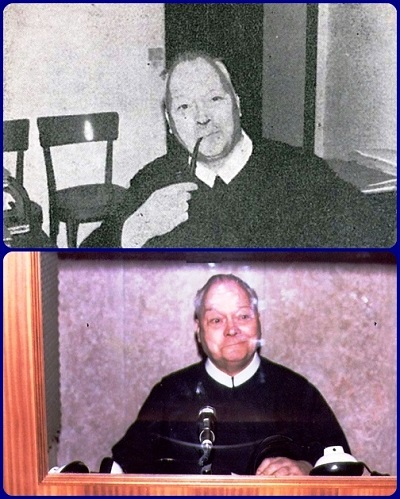 Il P. Kurtdietrich Büche non disdegnava di fumare la pipa e metteva a disposizione di tutti le sue straordinarie doti linguistiche come traduttore e interprete.