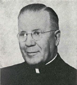 Il redentorista Mons. William McCarty, 1889-1972, USA, Provincia di Baltimora, Vescovo di Rapid City. Morì a 80 anni, dopo 20 trascorsi in un intenso lavoro pastorale come vescovo.