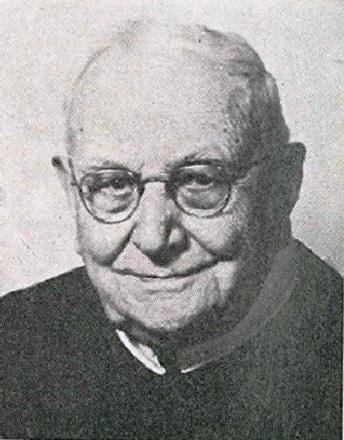 Il redentorista P. Cornelius J. Warren, C.Ss.R. 1873-1975 – USA, Provincia di Baltimora. Una singolare figura dalla lunga vita. Morì a 102 anni.