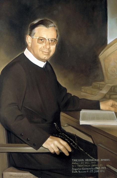 Il redentorista Mons. Tarcísio Ariovaldo Amaral Machado, 1919-1994,– Brasile, Vice-Provincia Brasiliana – al momento della professione. È stato Rettore Maggiore (1967-1973) e Vescovo (1976-1991) prima a Limeira e poi a Campanha. Ritiratosi dal governo della diocesi, morì nel 1994 a 74 anni.