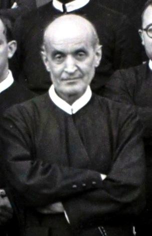 P. Benedetto D'Orazio in una foto del 1947. Fu padre spirituale di molti che a lui accorrevano: Cardinali, Vescovi, sacerdoti, religiosi, fedeli aveva bisogno di una parola di conforto e di sollievo.