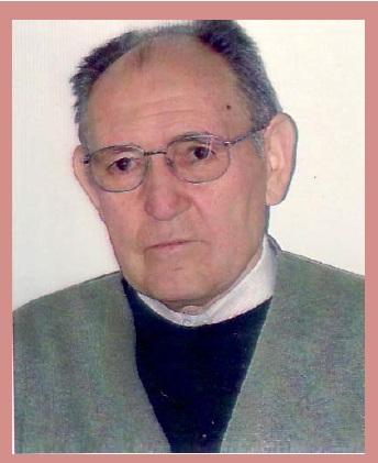 Il redentorista Fratello Santos Agustín Fuertes Vega, 1935-2015, Spagna, Provincia di Madrid, morto il 24 aprile2015, a 79 anni.